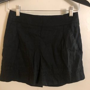 Women's black shorts